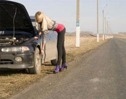 Если машина сломалась на дороге