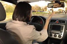 Женщины чаще испытывают стресс за рулем